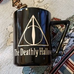 Universal Studios Harry Potter Deathly Hallows mug